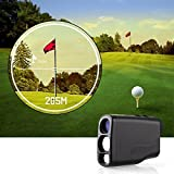 Amzdeal-Digital-Laser-Golf-Rangefinder-with-PinSeekerPerfect-for-Golf-Hunting-and-RacingBlack