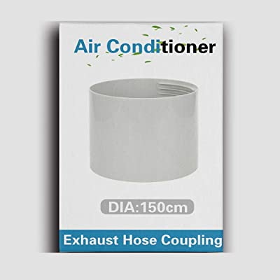 "AC Hose Coupling//Connector//Coupler 6/"" Diameter Portable Air Conditioner"