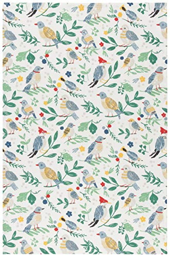 (Now Designs 2177294aa Cotton Kitchen Towel, Flock Together Print)