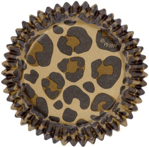 (Wilton ColorCups Leopard Baking Cups, Standard, 36-Count)