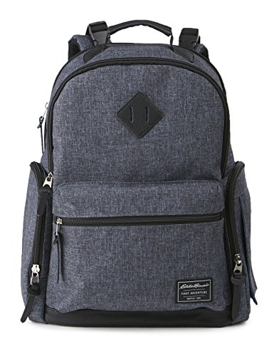 Eddie Bauer Bridgeport Places and Spaces Back Pack Diaper Bag, Navy