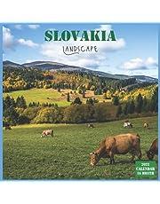 Slovakia Landscape Calendar 2022: Official Slovakia Calendar 2022, 16 Month Calendar 2022