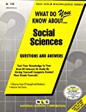 What Do You Know about Social Sciences?, Rudman, Jack, 0837371104