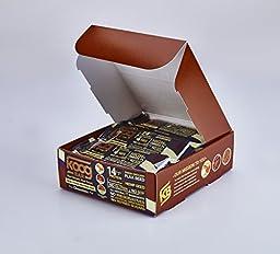 Real Food Protein Bar Koog Chocolate Bar Health is Wealth 12 bars/box