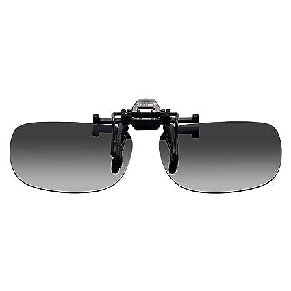 Zheino Día de la lente que conduce gafas de sol polarizadas, con clip de Lentes de Sol se levanta hacia arriba, UV400 anti-deslumbramiento gafas de ...