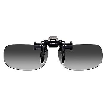 Zheino Día de la lente que conduce gafas de sol polarizadas, con clip de Lentes