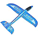 New AEROBATIC AIRPLANE 2 flight mode glider aircraft throwing foam air plane inertia toy model outdoor sports flying toy for kids as gift,by MIMIDOU .