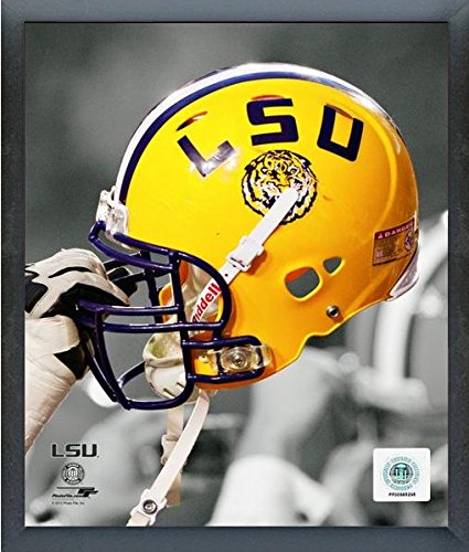 (LSU Tigers NCAA Helmet Spotlight Photo (Size: 12