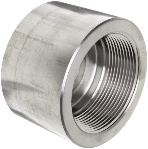 316/316L Forged Stainless Steel Pipe Fitting, Cap, Class 3000, 1