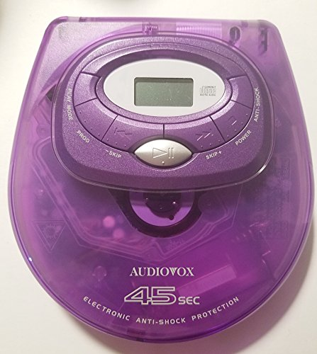 Audiovox DM8905-45P Personal CD Player with 45 Second Anti-S