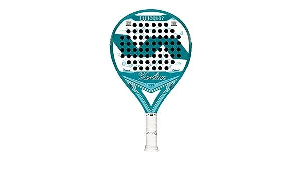 VARLION LW Aqua - Pala de padel para mujer, 38mm, color azul/blanco: Amazon.es: Deportes y aire libre