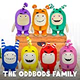 ODDBODS Fuse Soft Stuffed Plush Toys — for Boys