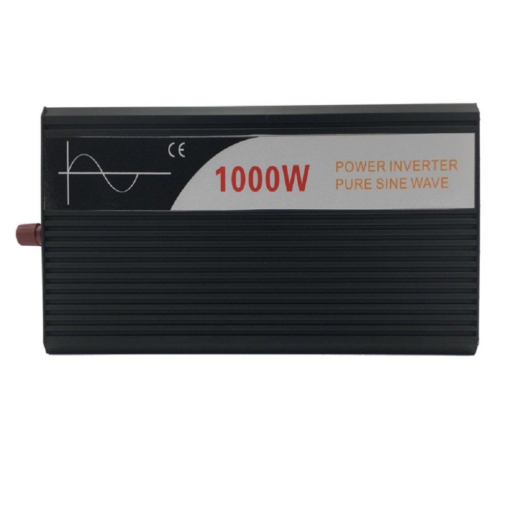 Xijia 1000W (Peak 2000W) Pure Sine Wave power Inverter DC 12V 24V 48V to AC 120V 60HZ Solar converter For Home Use car (DC 48V to AC 120V) by Xijia (Image #4)