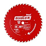 Freud D1040A Diablo 10-Inch 40 Tooth ATB General Purpose Saw Blade with 5/8-Inch Arbor and PermaShield Coating