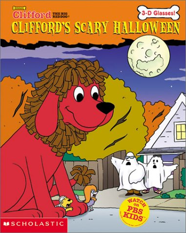 cliffords scary halloween 3 d glasses clifford