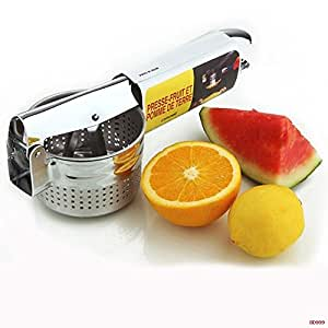 Stainless Steel Orange and Lemon Press Squeezer Traditional Orange Juicer.