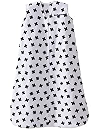SleepSack, Micro-fleece, Tossed Plus Signs, Black/White,...