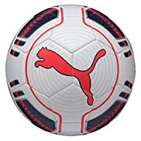 PUMA Fußball EVO Power 6 Trainer MS, White/Peacoat/Bright Plasma, 5, 082231 15