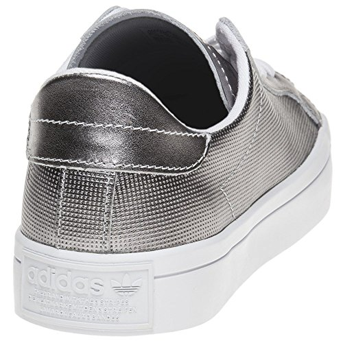 Night Gris White Adidas Metallic W Courtvantage vn6qqY1