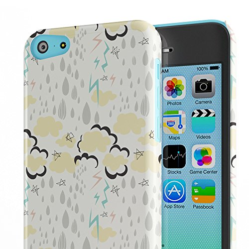 Koveru Back Cover Case for Apple iPhone 5C - Monsoon