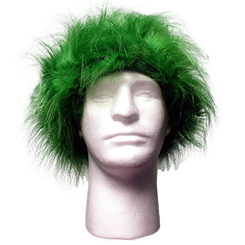 Sports Novelties Wig, Green