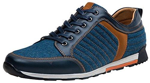 SHENBO New Arrival Denim Men Sneakers, Fashion Designer Casual Shoes For Men (11)