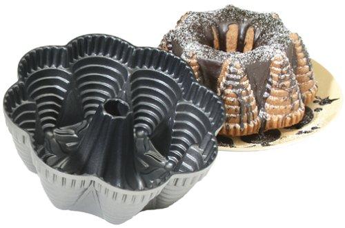 Nordic Ware Cast Aluminum Festival Party Bundt Pan