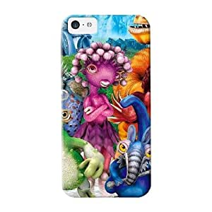 Freshmilk High Quality Spore Cartoon Background Case For Iphone 5c / Perfect Case For Lovers
