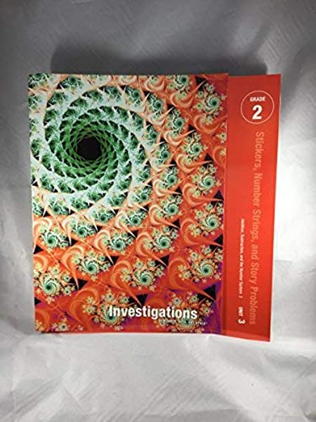 Data and Space Gr Pearson Education Investigations in Number 2 Multiple Cards