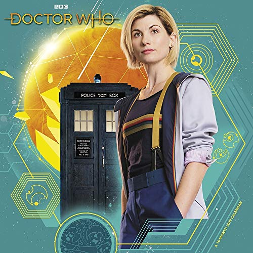 2019 Doctor Who 13th Doctor Wall Calendar, Sci-Fi TV by ACCO Brands