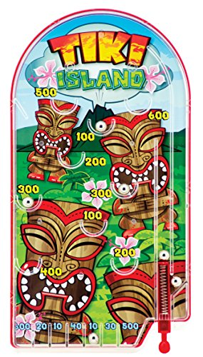 "Schylling Tiki Island Pinball Game, Green, 10' x 5"" for sale  Delivered anywhere in USA"