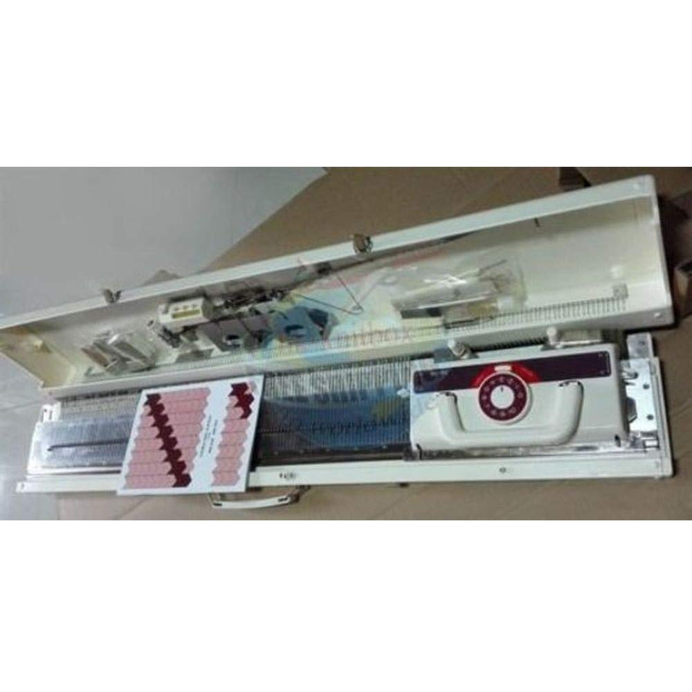 Weaver KH160 6mm Mid Gauge Chunky Knitting Machine with Built in Intarsia Same as Brother KH160 by SUNNY CHOI (Image #1)