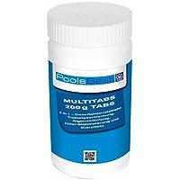 1 Kg - PoolsBest Chlor Multitabs 5in1, 200g Tabs + Duraol Mini-Pooltester (Chlor+pH)