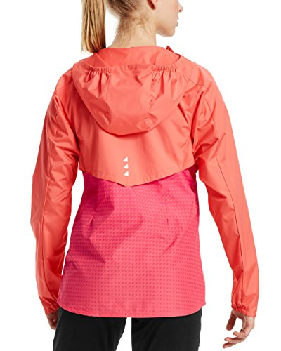 Mission Women's VaporActive Barometer Running Jacket, Emberglow/Beetroot Purple Ombre, Medium by Mission (Image #2)