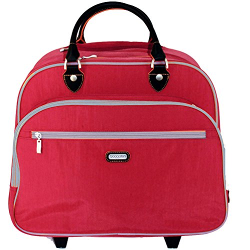 Baggallini Rolling Tote Travel Carry-on Luggage Handbag by Baggallini
