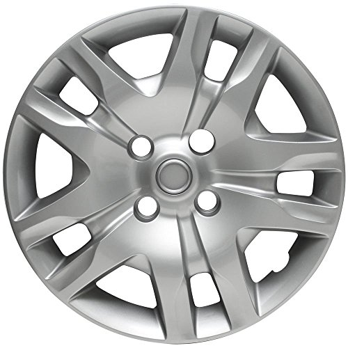 "Silver 16"" Bolt on Hub Cap Wheel Covers for Nissan Sentra ..."