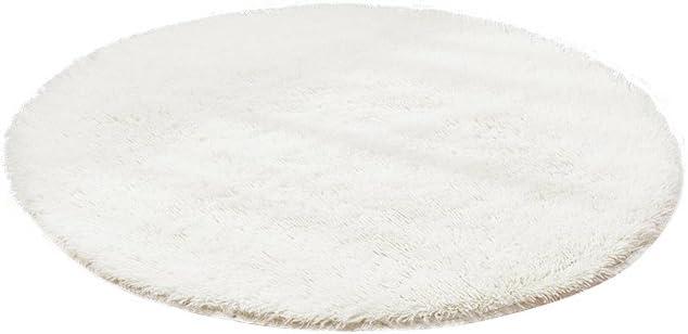 Teppich Matten Multi Size Runde Super Soft Home Comfort Pl/üsch Teppichen Schlafzimmer Wohnzimmer Luxuri/öse Shaggy Bodenbelag