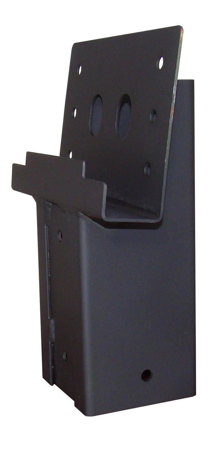 Summit Outdoor E1008 4 x 4 Single Angle Elevator Brackets, Set of 2 by Summit Outdoor