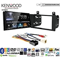 Volunteer Audio Kenwood DDX9904S Double Din Radio Install Kit with Apple CarPlay Android Auto Bluetooth Fits 2000-2005 Ford Thunderbird, 2000-2006 Lincoln LS