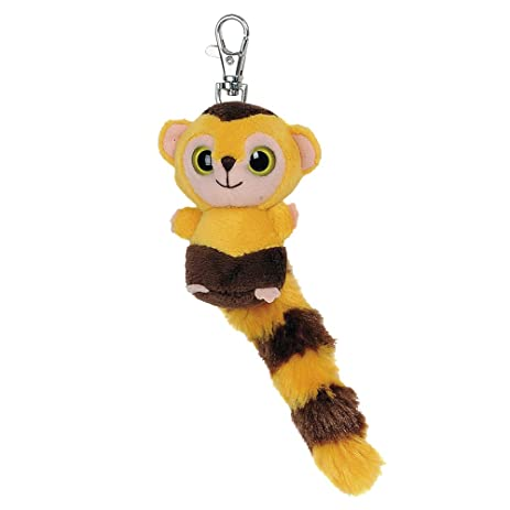 "3"" Yellow Yoohoo & Friends Roodee Capuchin Monkey ..."