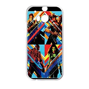 Guardians Of The Galaxy HTC One M8 Cell Phone Case White X7L9OI