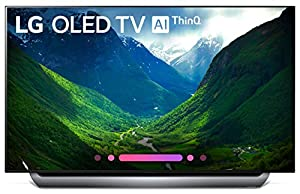 LG Electronics OLED55C8PUA 55-Inch 4K Ultra HD Smart OLED TV (2018 Model)