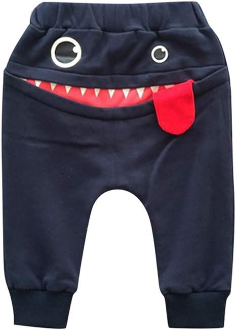 feiXIANG Ropa para niños bebé niño niña Caricatura tiburón Lengua ...