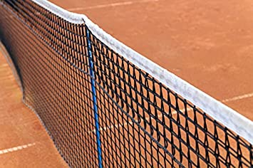Rete da Tennis per Doppio - Lunghezza 12,8m - Spessore 5 mm, 7 kg