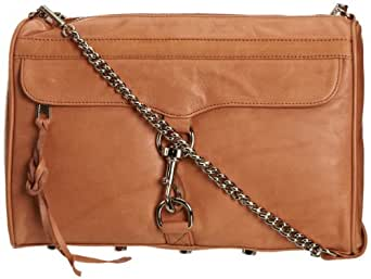 Rebecca Minkoff Mac Daddy Shoulder Bag,Coral,One Size