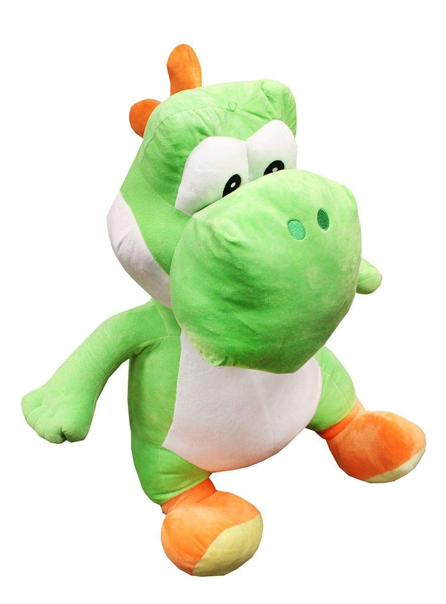 Nintendo Super Mario Bros 35'' Super Large Green Yoshi Plush by Super Mario Brothers
