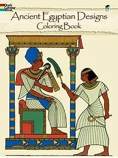 Ancient Egyptian Designs Coloring Book Dover Design Books