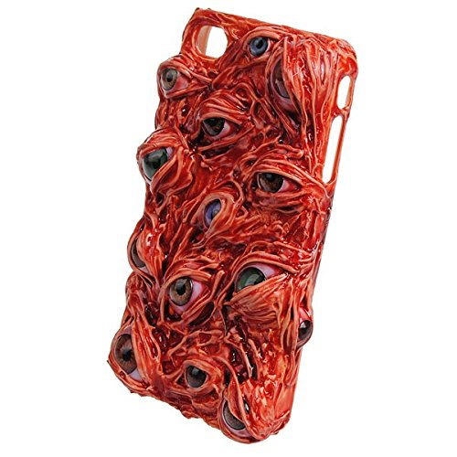 Hallowmas Handmade Case Bloody Eyes Protector Motif Pour iPhone 4