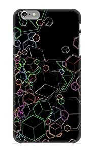 Christmas Gift - Tpu Case Cover For iphone 5C Strong Protect Case - Abstract Cubes Design