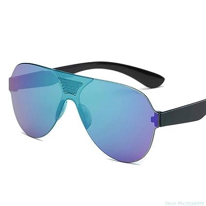 EDSWXT Gafas De Montar Gafas De Sol Sin Montura para ...